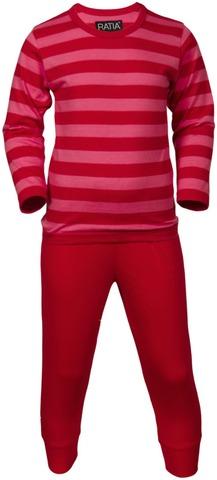 Ratia Lasten Pitkä Pyjama Raidallinen 3210-20