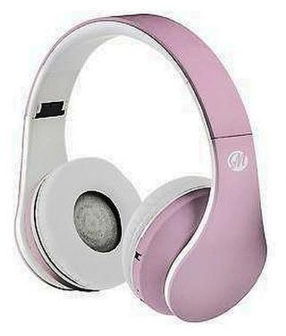 Macs Md5 Bluetooth-Kuulokkeet Fm-Radiolla Vaaleanpunainen