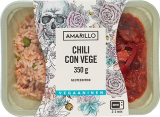 Amarillo Chili Con Vege Annosateria 350 G