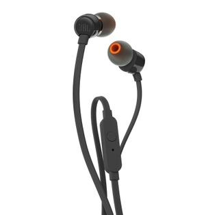 Jbl T110 Nappikuulokkeet Mikrofonilla Musta