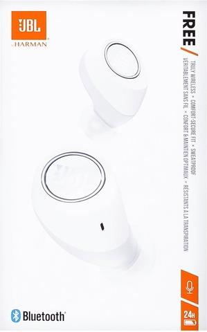 Jbl Free Bluetooth-Nappikuulokkeet Langaton Valkoinen