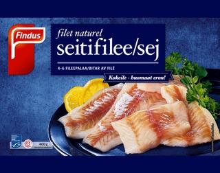 Findus Filet Naturel Seiti Msc 400G, Pakaste
