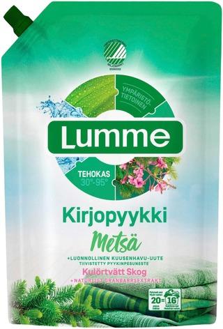 Lumme Kirjopyykki Metsä Pyykinpesuneste 800Ml
