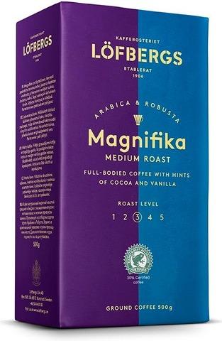 Löfbergs Magnifika keskipaahto kahvi 500g
