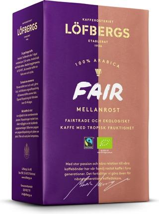 Löfbergs Fair keskipaahto kahvi 450g