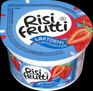 Risifrutti Laktoositon Mansikka Riisivälipala 165G