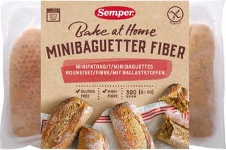 Semper Gluteeniton Rouheiset Gluteenittomat Minipatongit 6X50g