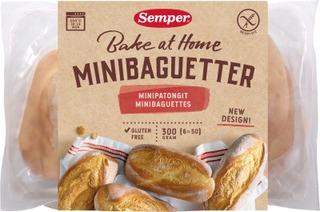 Semper Gluteeniton Gluteenittomat Minipatongit 6X50g
