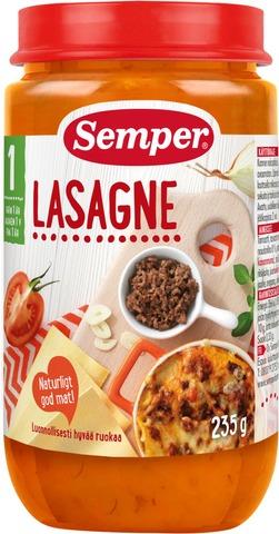 Semper 235G Lasagne Alkaen 1V Lastenateria