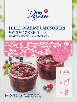 Dansukker Hillo-Marmeladisokeri 1+3 330G