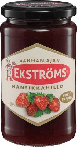 Ekströms Vanhan ajan mansikkahillo 410g