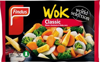 Findus Wok Classic 500G, Pakaste