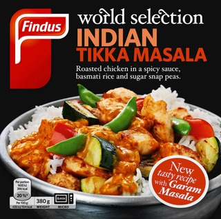 Findus World Selection Indian Tikka Masala 380G, Pakaste