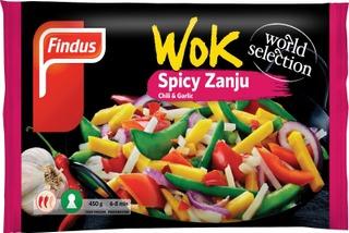 Findus Wok Spicy Zanju 450G, Pakaste