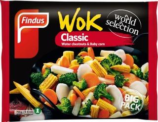 Findus Wok Classic Big Pack 750G, Pakaste