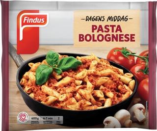 Findus Dagens Middag Pasta Bolognese 600g, pakaste