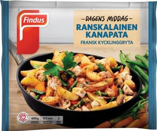 Findus Dagens Middag Ranskalainen kanapata 600g, pakaste