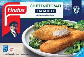 Findus Gluteenittomat Kalafileet Msc 340G , Pakaste