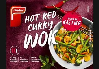 Findus Hot Red Curry 400G, Pakaste