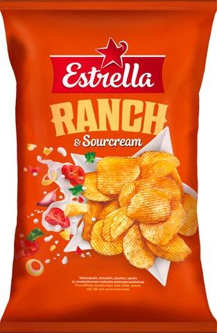 Estrella Sourcream & Ranch Chips 275G