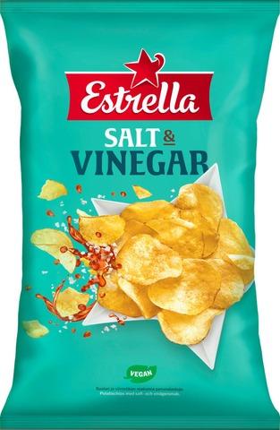 Estrella Salt & Vinegar Chips 275G