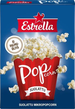 Estrella Micropopcorn 3-pack suolattu 240g