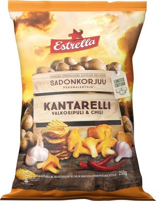 Estrella Sadonkorjuu Kantarelli, Valkosipuli & Chili 250g