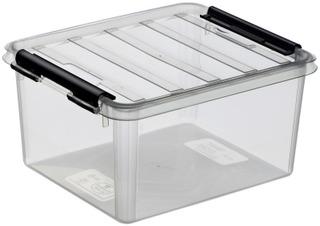 Orthex SmartStore Classic 2 kannellinen säilytyslaatikko kirkas