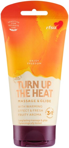 Rfsu Sense Me Massage Glide Heat 150Ml