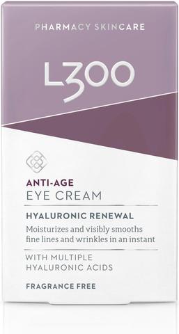 L300 Hyaluronic Renewal Anti-Age Eye Cream Silmänympärysvoide 15Ml