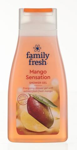 Family Fresh Mango Sensation Shower Gel Suihkugeeli 500Ml