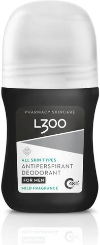 L300 For Men Antiperspirant Deodorant Mild Fragrance Miedosti Hajustettu Antiperspirantti 60Ml