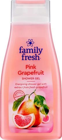 Family Fresh Pink Grapefruit Shower Gel Suihkugeeli 500Ml