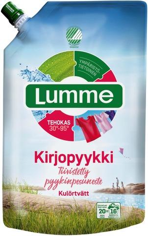 Lumme Kirjopyykki Pyykinpesuneste 800Ml