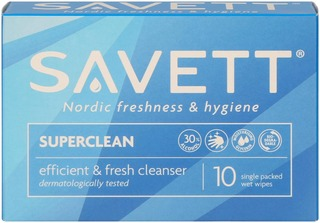 Savett Superclean kosteuspyyhe 10kpl