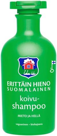 Erittäin Hieno Suomalainen Koivushampoo 300ml