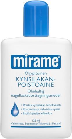 Mirame Öljypitoinen Kynsilakanpoistoaine 125Ml