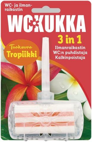Wc Kukka Tropiikki 3In1 Wc- Ja Ilmanraikastin 50G