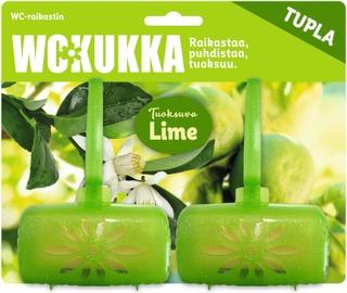 Wc Kukka Lime Tuplapakkaus Wc-Raikastin 2X50g
