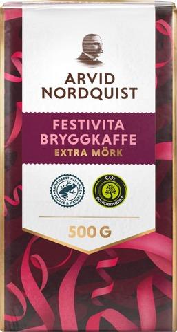 Arvid Nordquist Classic Festivita Kahvi 500G