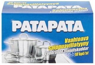 Patapata Saippuavillatyyny 10Kpl