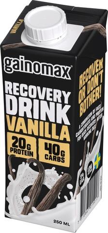 Gainomax Recovery Drink Vanilla Palautusjuoma 250Ml