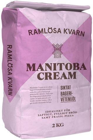 Ramlösa Kvarn 2Kg Manitoba Cream Vehnäjauho