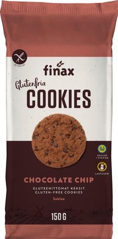 Finax 150G Suklaahippukeksi Gluteeniton & Laktoositon