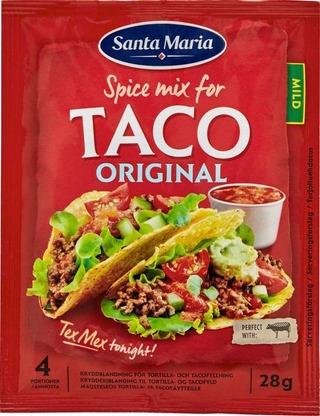 Santa Maria 28G Taco Spice Mix