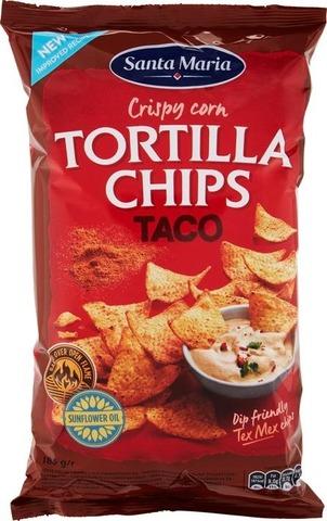 Santa Maria 185G Tortilla Chips Taco