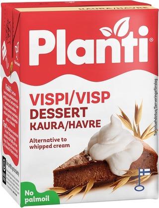 Planti kauravispi maidoton vaahtoutuva kaurapohjainen kasvirasvasekoite 21% rasvaa 2dl