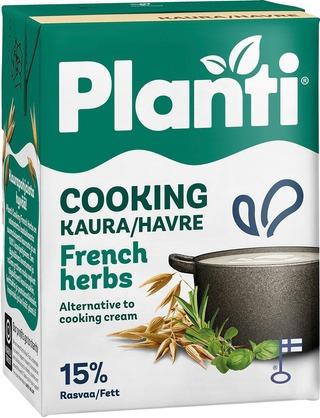 Planti Cooking ranskan yrtit kaurapohjainen ruoanlaittovalmiste 15% rasvaa 2dl