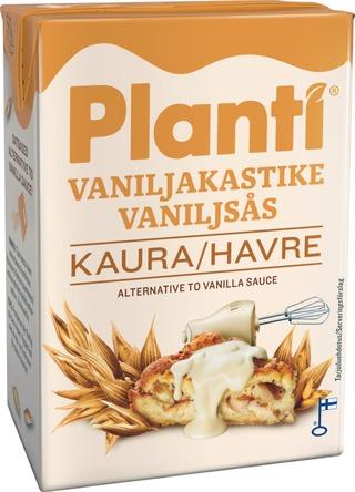 Planti maidoton vaahtoutuva kaurapohjainen vaniljakastike 10% rasvaa 2dl