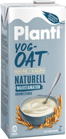Planti Yogoat Maustamaton Kauratuote Hapatettu Jogurttihapatteella 0,75L